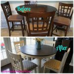Annie Sloan Chalk Paint Kitchen Table Tutorial Love Wine