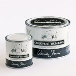 Annie Sloan Chalk Paint Wax Black Painted