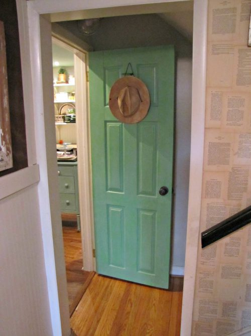 Annie Sloan Green Door Painted Home Denise