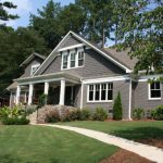 Another Incredible Ranch House Remodel Added Second Story Painted Brick