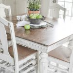 Antique Dining Table Chalk Paint Anderson