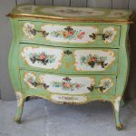 Antique Italian Hand Painted Commode Interior Boutiques Antiques Sale Mid