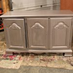 Antique Metallic Furniture Paint Using Caromal Colours