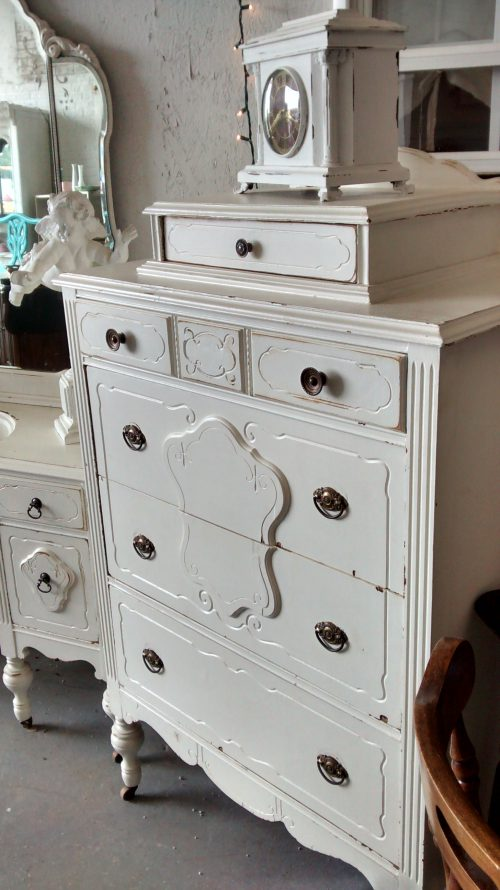 Antique Painted Dresser Furniture