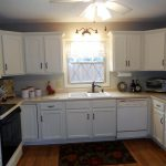 Antique White Painted Kitchen Cabinets After Jan Vintage Chic