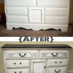 Antiquing Furniture Paint Stain