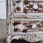 Antiquing Painted Furniture