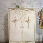 Armoire Painted Cottage Chic Shabby French Romantic