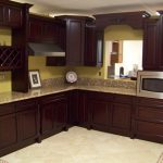 Attractive Painted Kitchen Cabinet