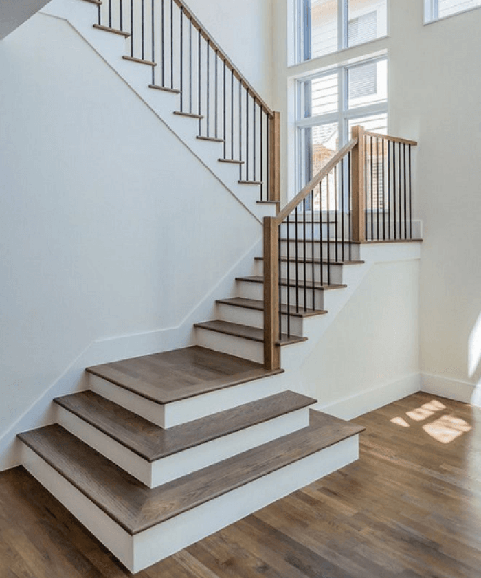 Attractive Painted Stairs Ideas Painting