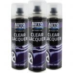 Automotive Clear Lacquer Spray Paint Aerosol Fast Metal Interior Exterior