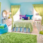 Awesome Bedroom Paint Color Ideas Kids S Green Sweet Colorful Interior Design