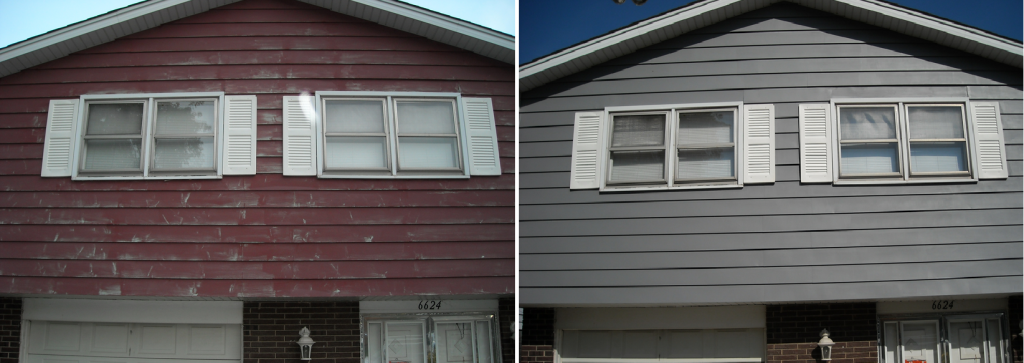Awesome Best Paint Vinyl Siding Painting Aluminum Before After