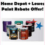 Awesome Home Depot Lowes Paint Rebate Offer Kouponing