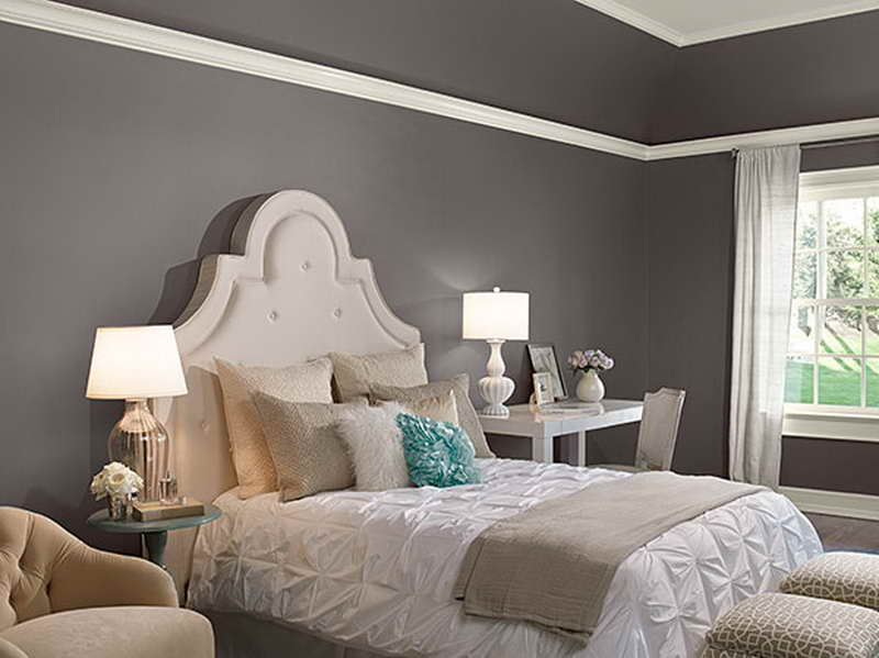 Awesome Most Popular Bedroom Paint Colors Gray