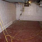 Basement Floor Paint Before After Painted Walls