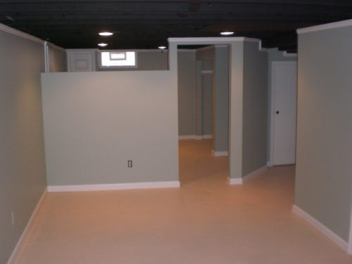 Basement Remodel Traditional Louisville Painting Services