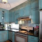 Bathroom Mirrored Wall Cabinets Rustic Kitchen Blue Painted Cabinet