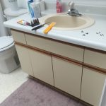 Bathroom Paint Laminate Cabinets Penny
