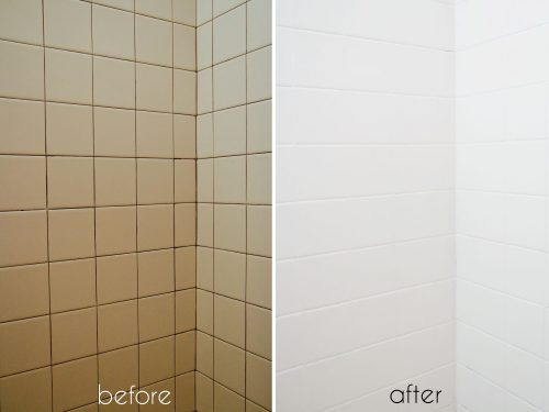 Bathroom Tile Makeover Paint Ramshackle