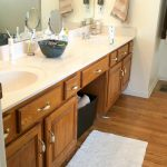 Bathroom Vanity Transformation Diy Chalk Type Paint Farm Fresh Vintage