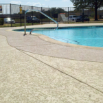 Beautiful Cool Deck Coating Concrete Pool Finishes