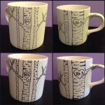 Beautiful Paint Your Own Pottery Mug