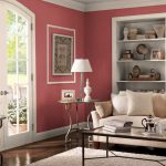 Beautiful Red Paint Behr Interior Colors Hard Wood Floring