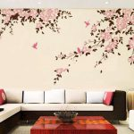 Bedroom Wall Painting Modern Style Home Design