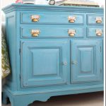 Before After Furniture Makeover Turquoise Own
