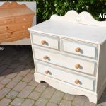 Before After Project Using Annie Sloan Old White Chalk Paint Dovetails
