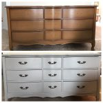 Before After Rustoleum Aged Gray Chalk Paint Home Depot Colors