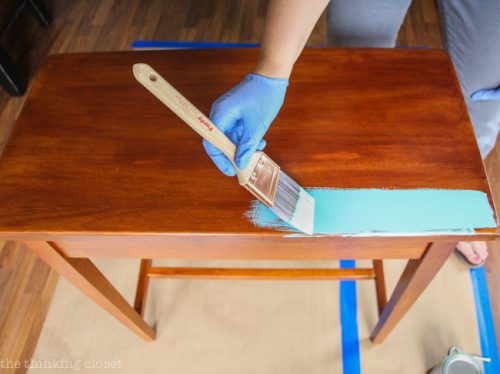 Beginner Guide Annie Sloan Chalk Paint Thinking