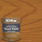 Behr Deckplus Gal Natural Clear Transparent Waterproofing Wood Finish Home