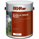 Behr Gal White Exterior Barn Fence Paint Home