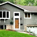Behr Outdoor Paint Remarkable Exterior Colors Within Sparrow Snowfall