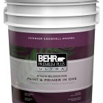 Behr Premium Plus Ultra Interior Eggshell Enamel Paint Primer One Medium