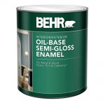 Behr Premium Plus Ultra Pure White Semi Gloss Enamel Exterior Paint Home