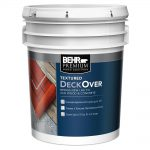 Behr Premium Textured Deckover Gal Wood Concrete Coating Home