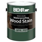 Behr Solid Color Waterproofing Wood Stain Home Depot Consumer