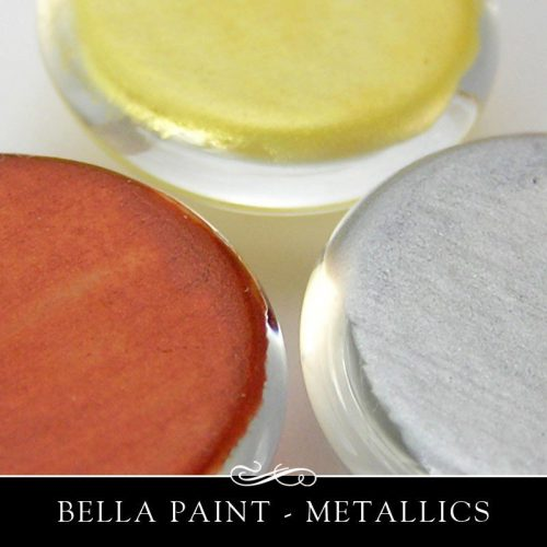 Bella Paint Glass Metal Opaque Glossy Food Safe Single Jar Annie