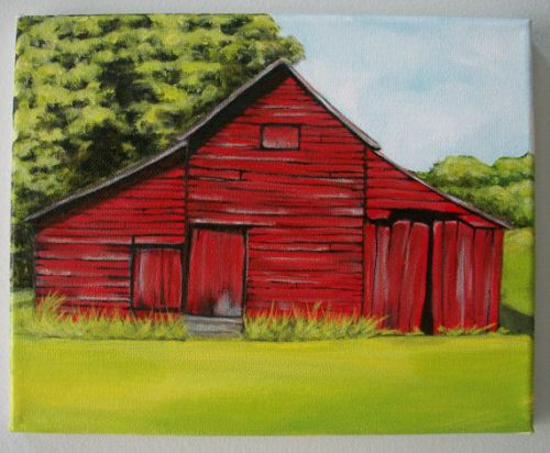 Best Barn Paintings Ideas Pinterest Small Easy