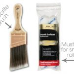 Best Brush Roller Painting Furniture Including Additives Reduce