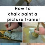 Best Chalk Paint Mirror Ideas Pinterest Painted Frames
