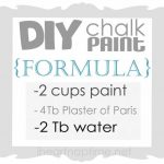 Best Chalk Paint Recipe Diy Home