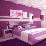 Best Collection Purple Wall Art Bedroom