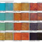Best Concrete Stain Colors Pinterest
