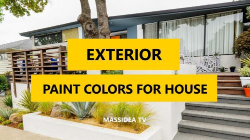 Best Exterior Paint Colors House