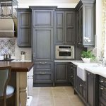 Best Grey Color Kitchen Cabinets Modern Home