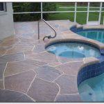 Best Paint Concrete Pool Deck Decks Home Decorating Ideas
